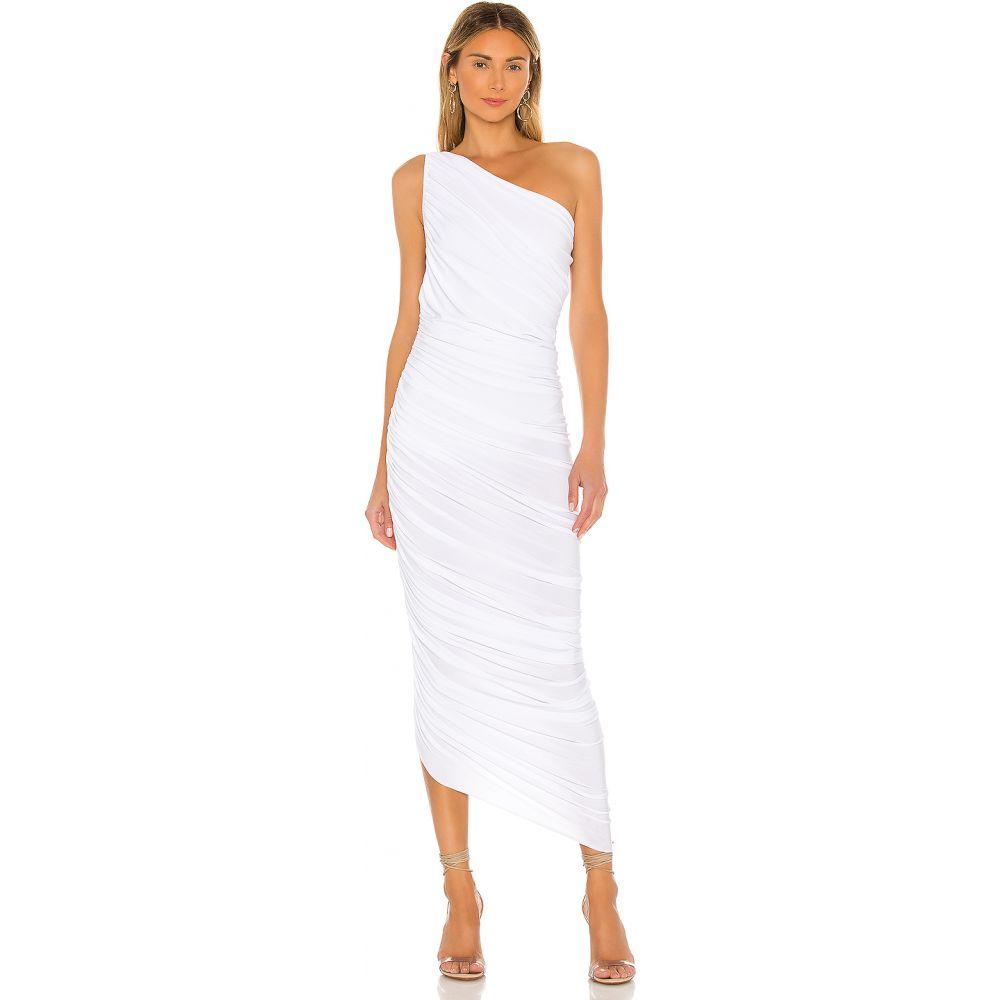 ノーマ カマリ Norma Kamali レディース パーティードレス ワンピース・ドレス【X REVOLVE Diana Gown】White