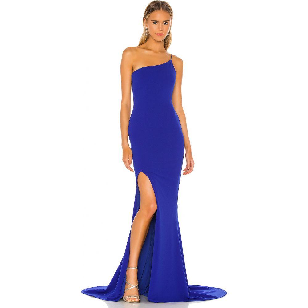 ノーキー Nookie レディース パーティードレス ワンピース・ドレス【x REVOLVE Jasmine One Shoulder Gown】Royal Sapphire
