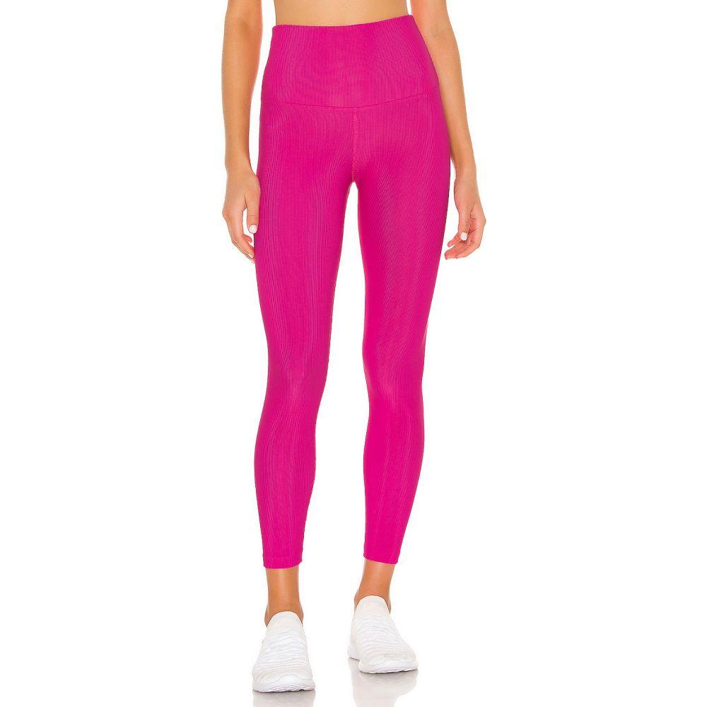 ビーチライオット BEACH RIOT レディース スパッツ・レギンス インナー・下着【Rib Legging】Hot Pink