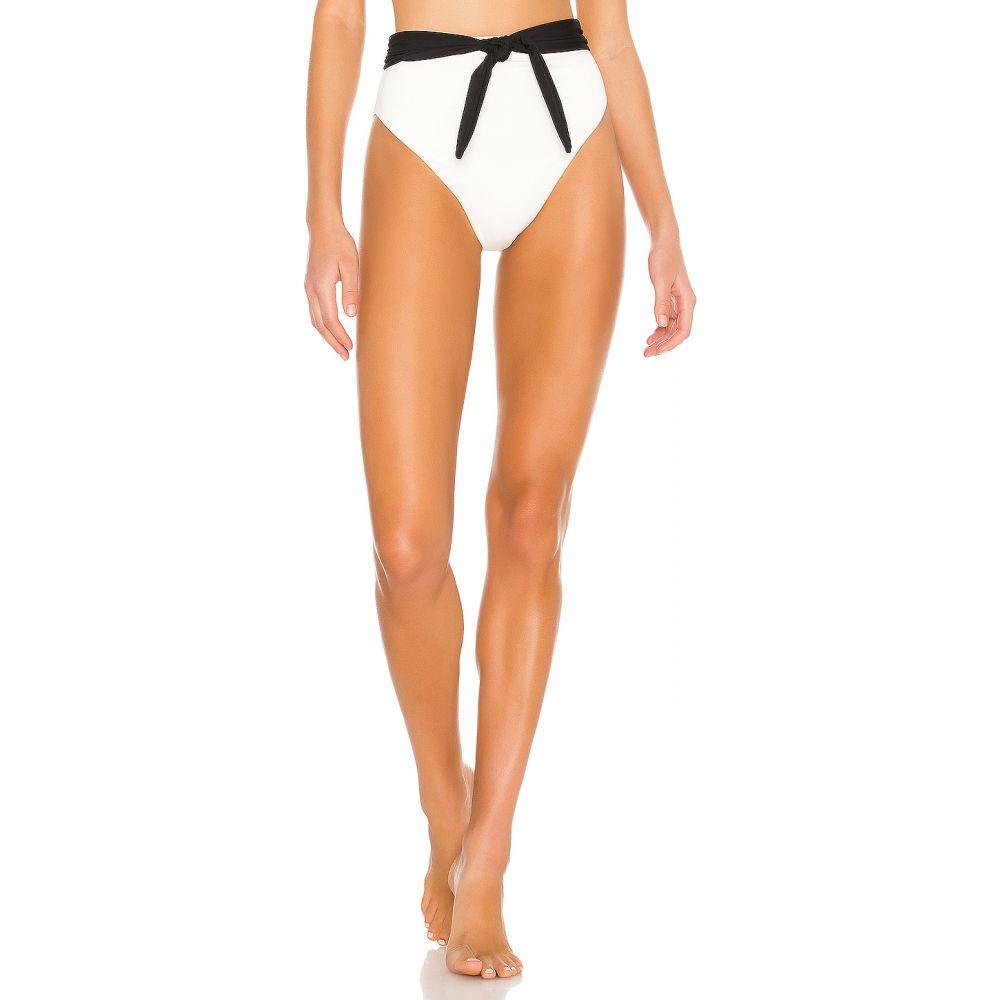 マラ ホフマン Mara Hoffman レディース ボトムのみ 水着・ビーチウェア【Goldie Bikini Bottom】Cream Black