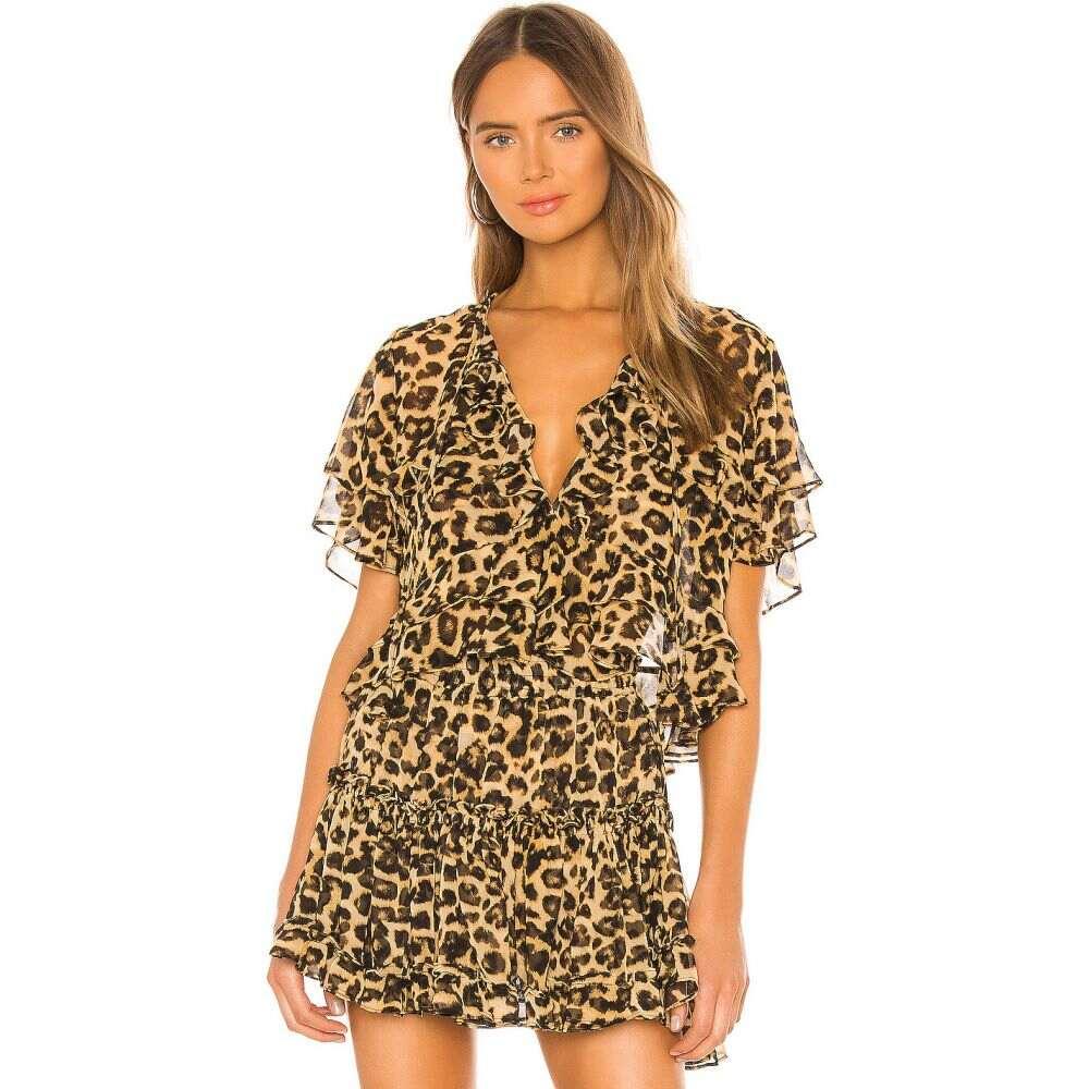 ミサロサンゼルス MISA Los Angeles レディース トップス 【X REVOLVE Raziela Top】Leopard