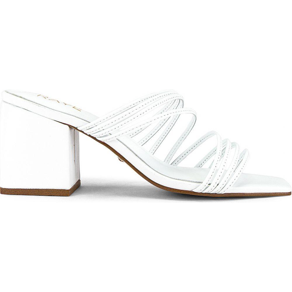 レイエ RAYE レディース ヒール シューズ・靴【Helix Heel】White