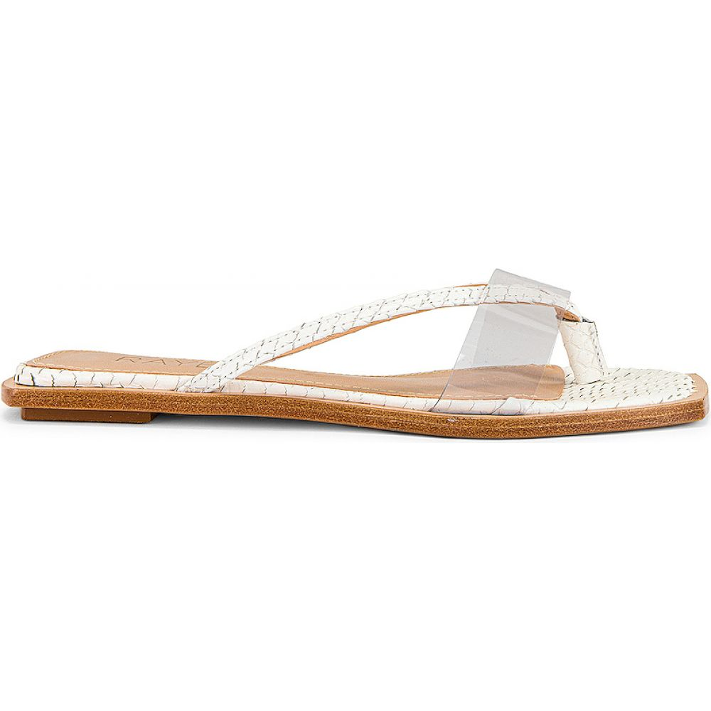 レイエ RAYE レディース サンダル・ミュール シューズ・靴【Chrissie Sandal】White