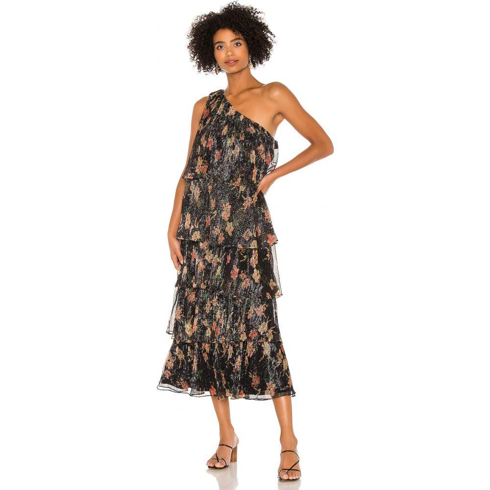 ハウスオブハーロウ1960 House of Harlow 1960 レディース ワンピース ワンピース・ドレス【x REVOLVE Collins Dress】Noir Floral Multi