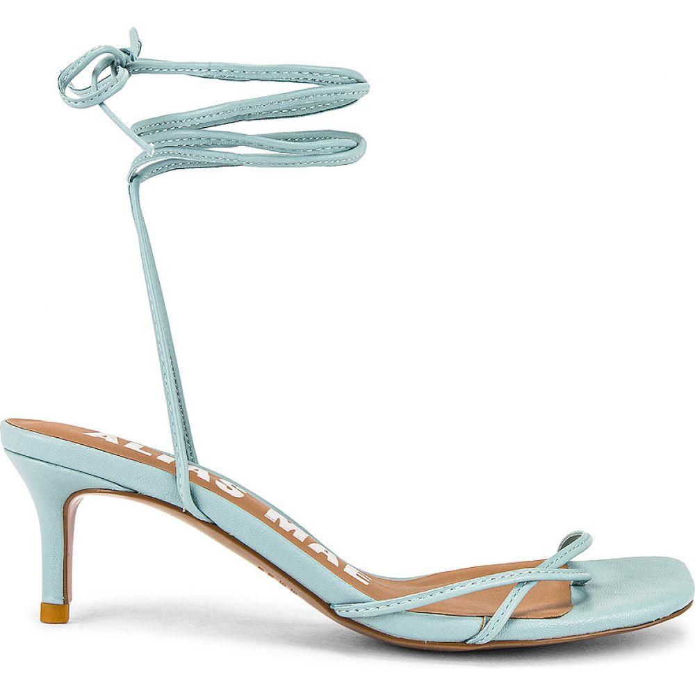 エイリアス メイ Alias Mae レディース サンダル・ミュール シューズ・靴【Ellery Sandal】Pale Blue Leather