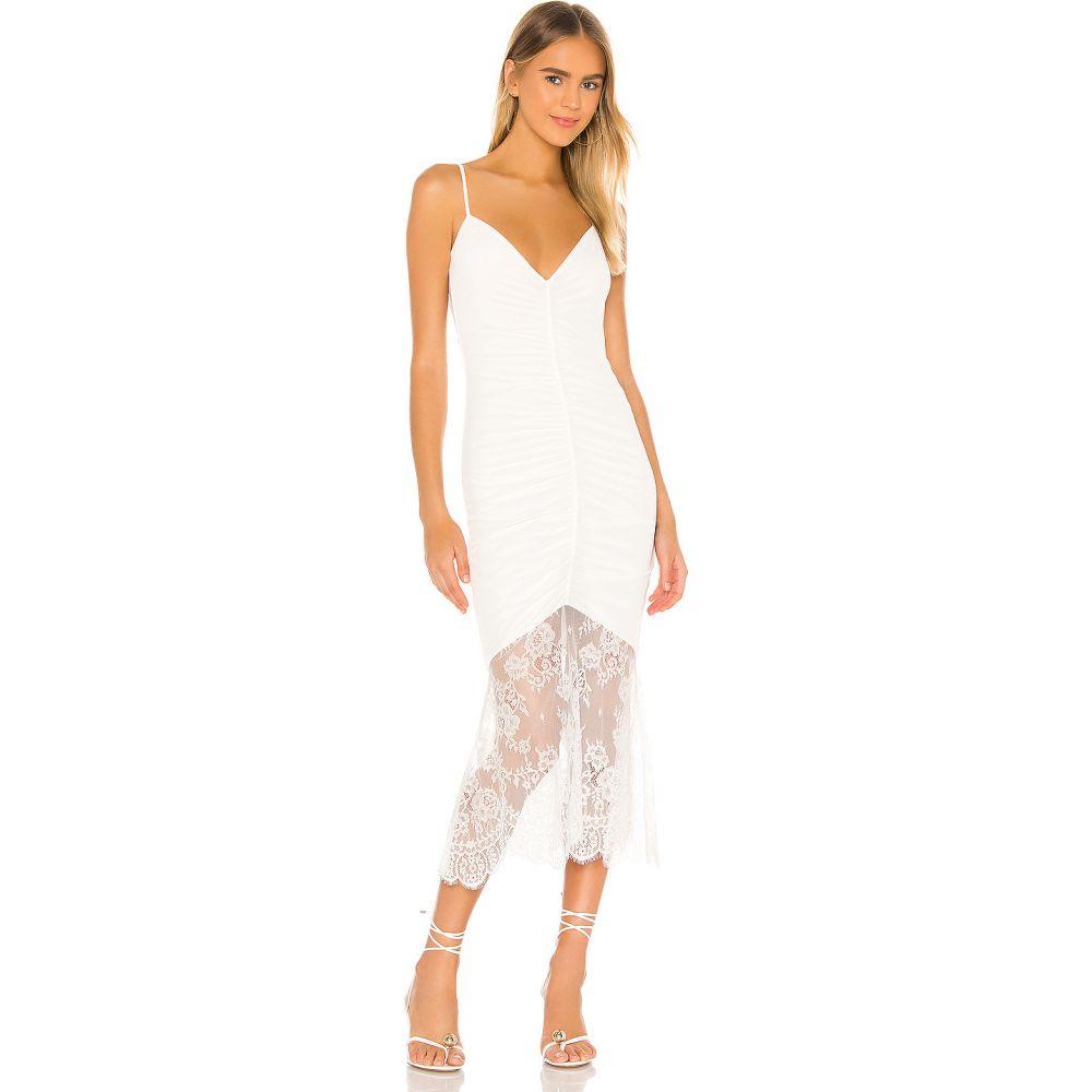 カミニューヨークシティー CAMI NYC レディース ワンピース ワンピース・ドレス【The Ohanna Dress】White
