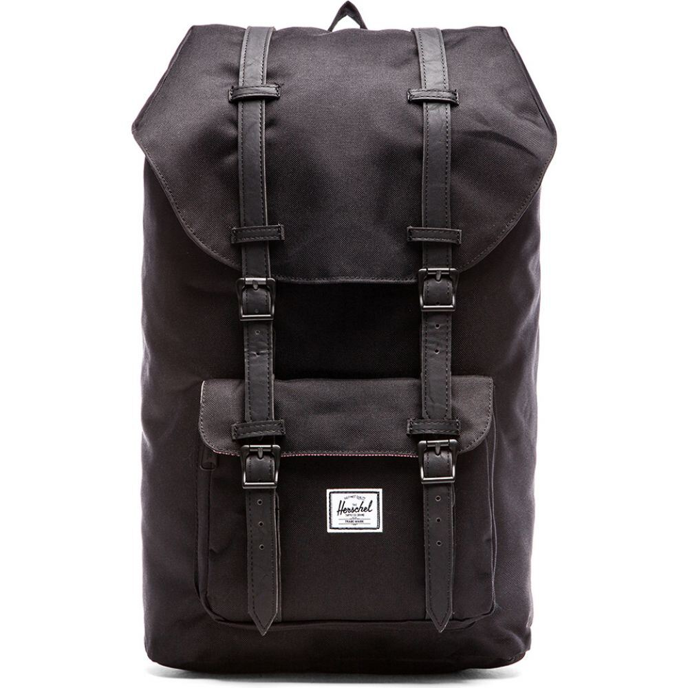 ハーシェル サプライ Herschel Supply Co. レディース バックパック・リュック バッグ【Little America Backpack】Black