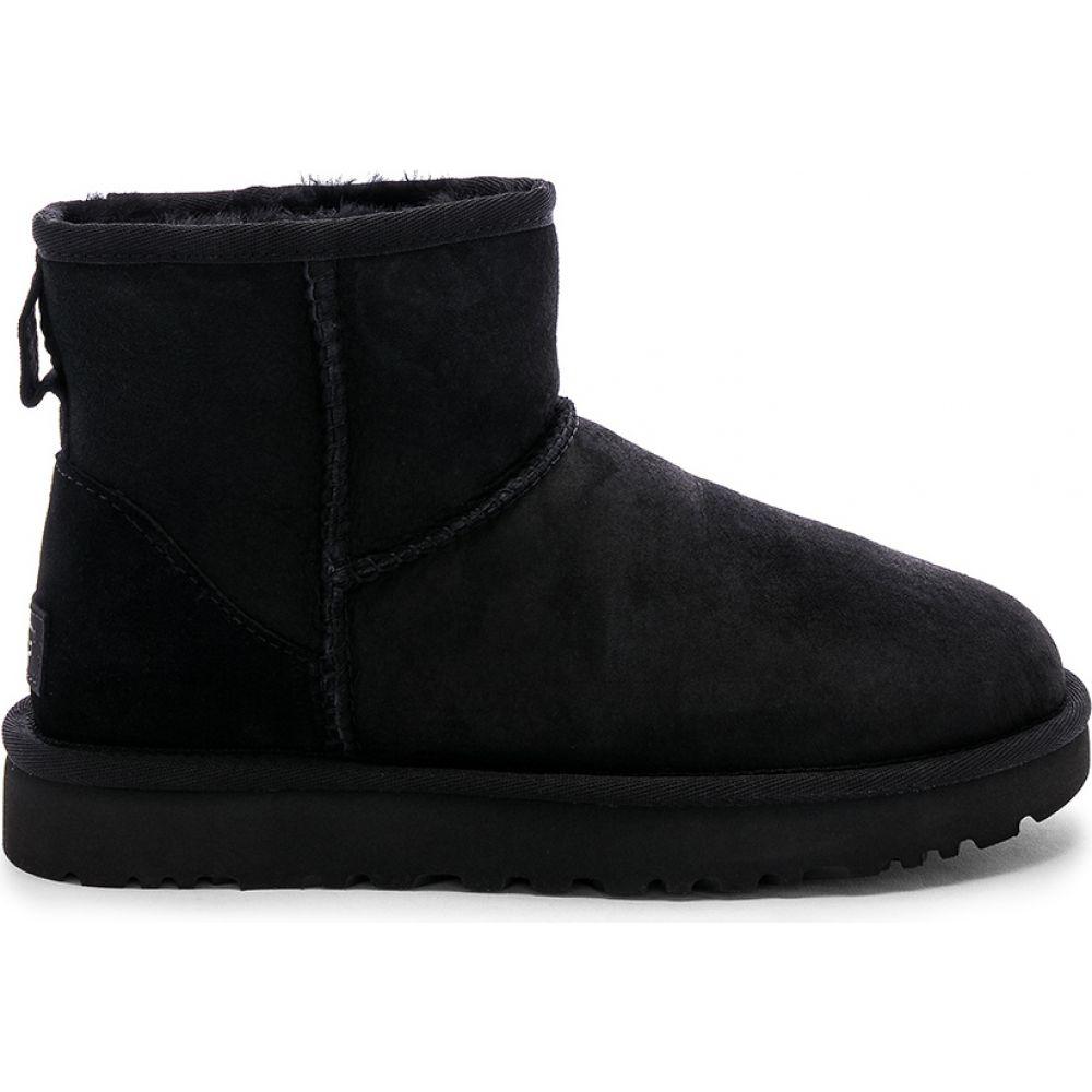アグ UGG レディース ブーツ シューズ・靴【Classic Mini II Bootie】Black