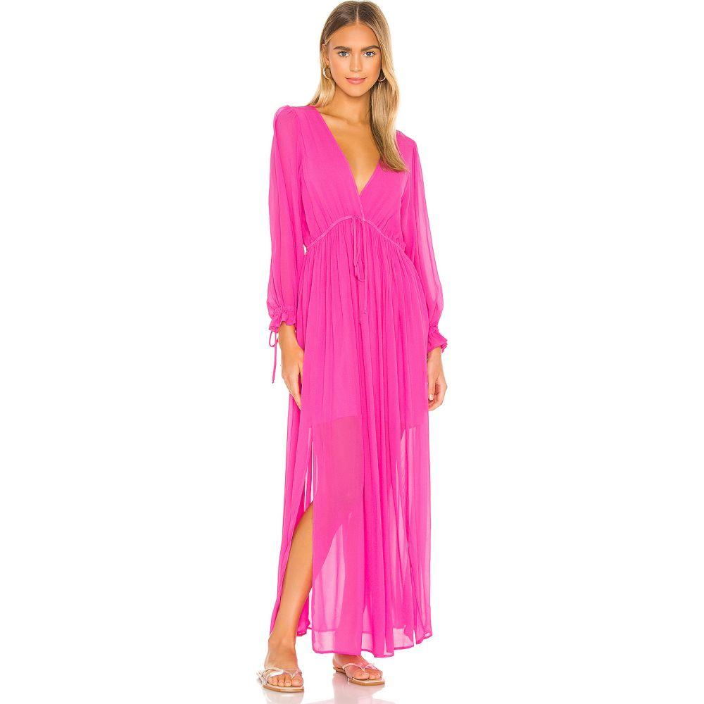 ヤングファビラスアンドブローク Young, Fabulous & Broke レディース ワンピース ワンピース・ドレス【Prairie Dress Dress】Hot Pink