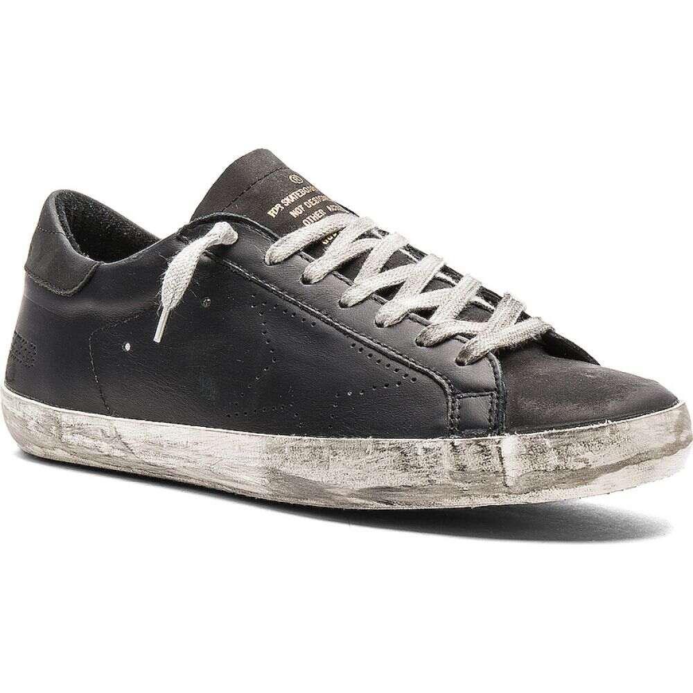 ゴールデン グース Golden Goose メンズ スニーカー シューズ・靴【Superstar Leather Sneakers】Black