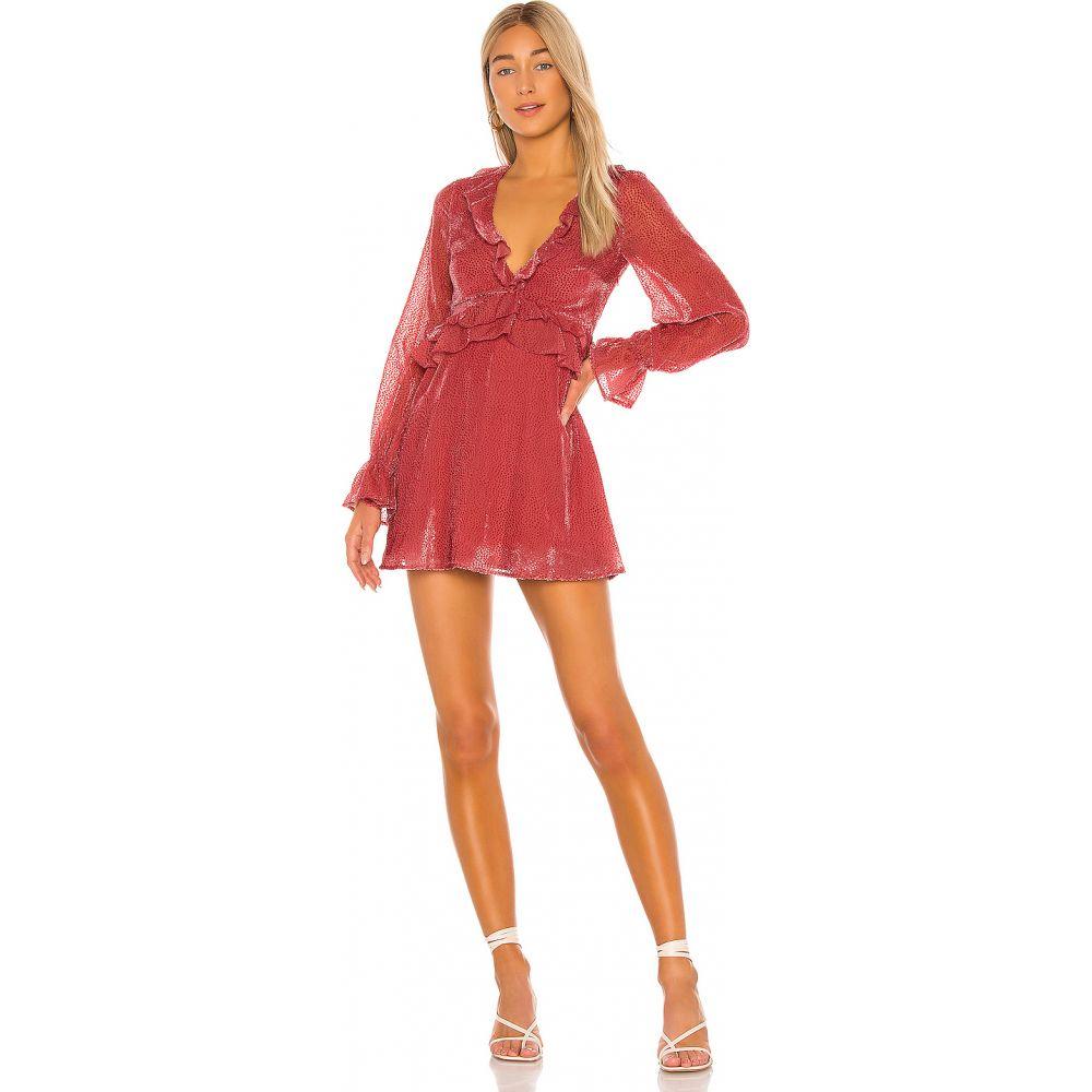ハウスオブハーロウ1960 House of Harlow 1960 レディース ワンピース ミニ丈 ワンピース・ドレス【x REVOLVE Delia Mini Dress】Rose
