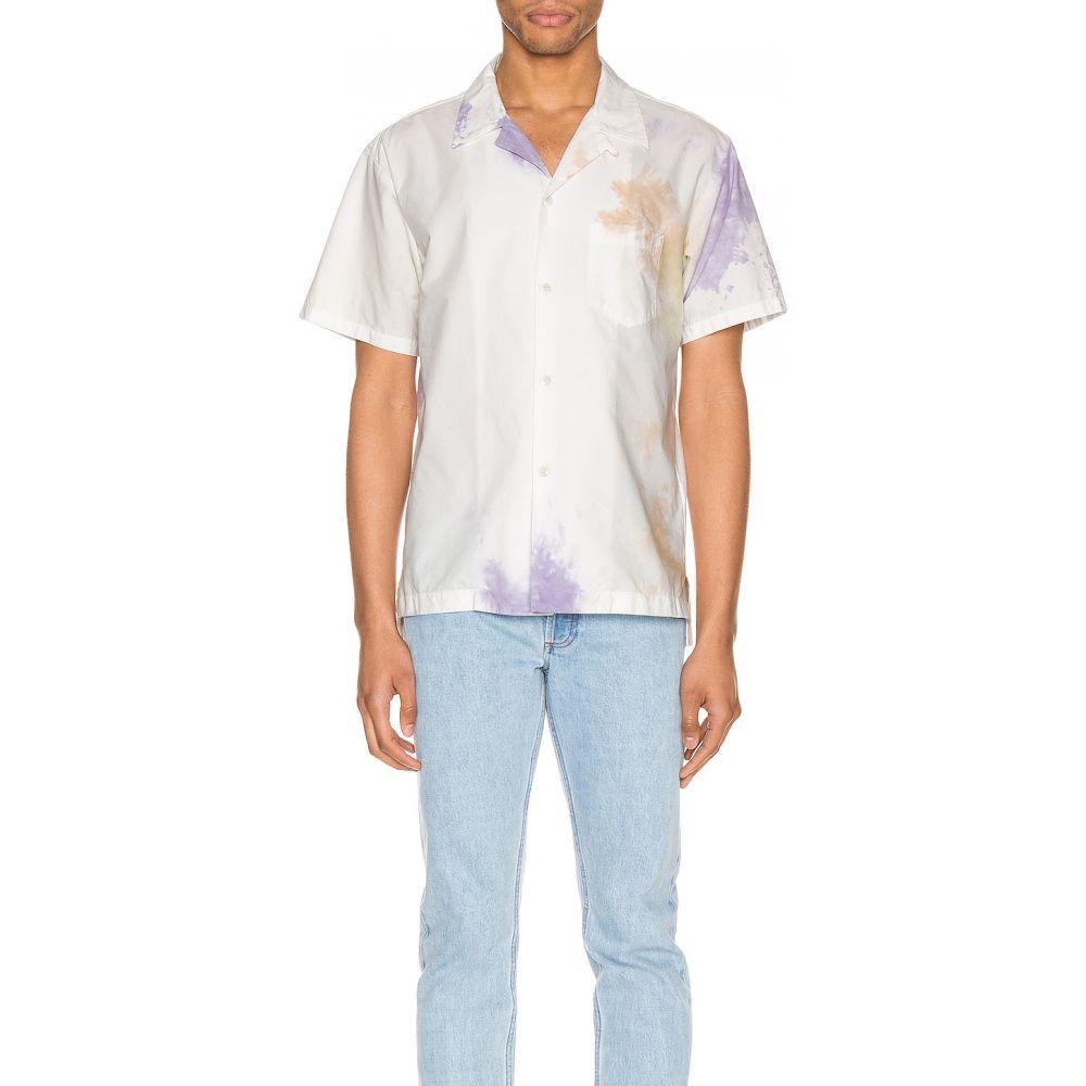 ジョン エリオット JOHN ELLIOTT メンズ 半袖シャツ トップス【Bowling Shirt】Balboa Ink Bloom
