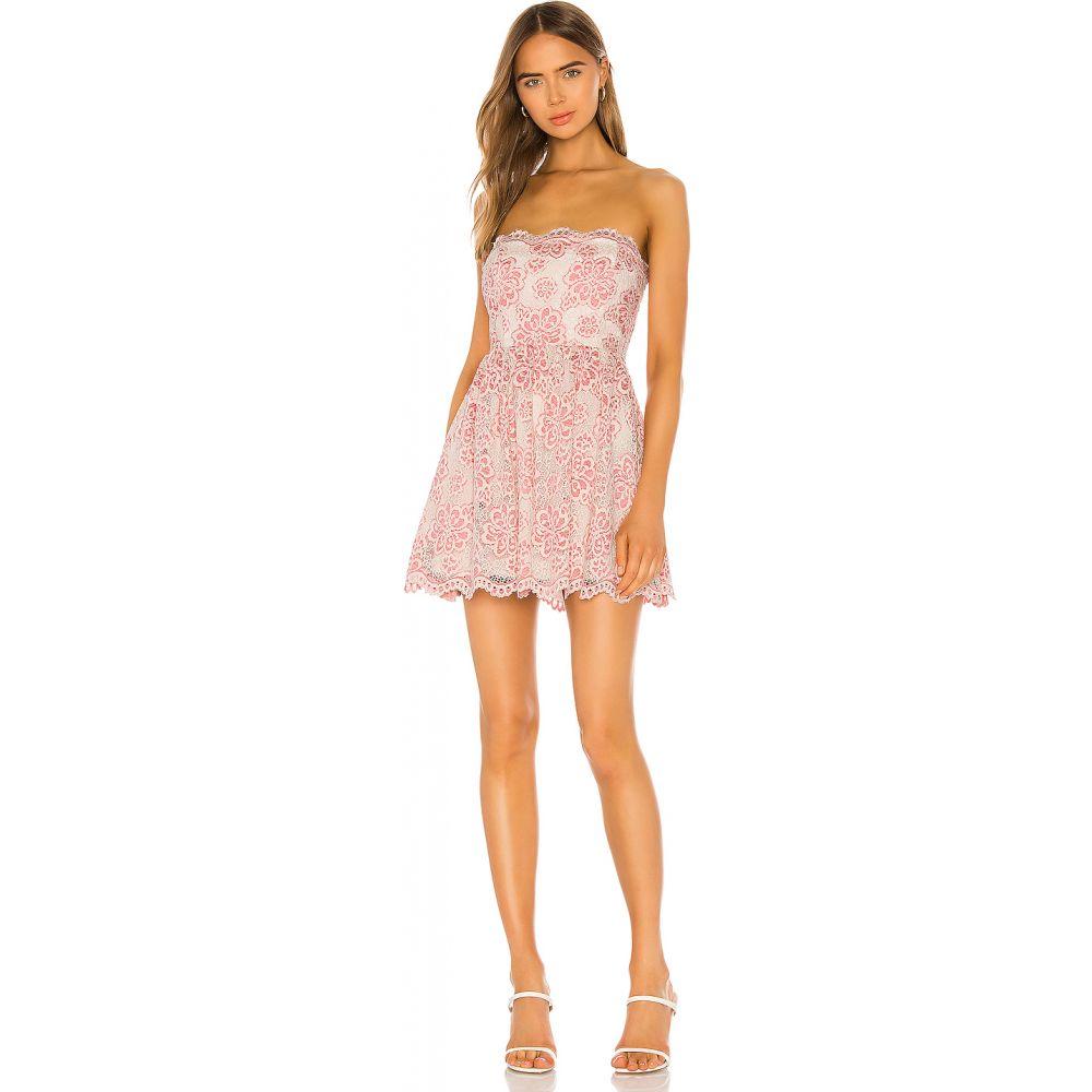 エヌビーディー NBD レディース ワンピース ワンピース・ドレス【Daimilee Dress】Ivory/Pink