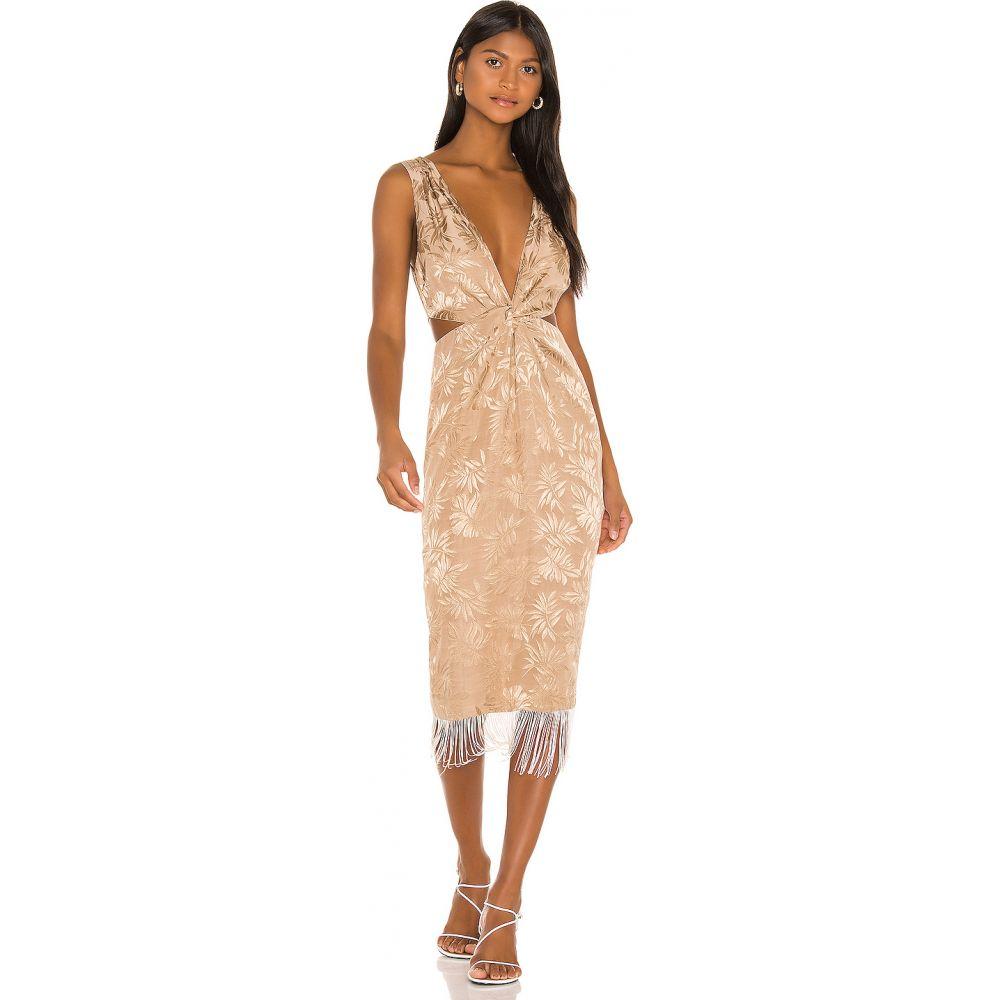 ソング オブ スタイル Song of Style レディース ワンピース ミドル丈 ワンピース・ドレス【Russell Midi Dress】Coconut Tan