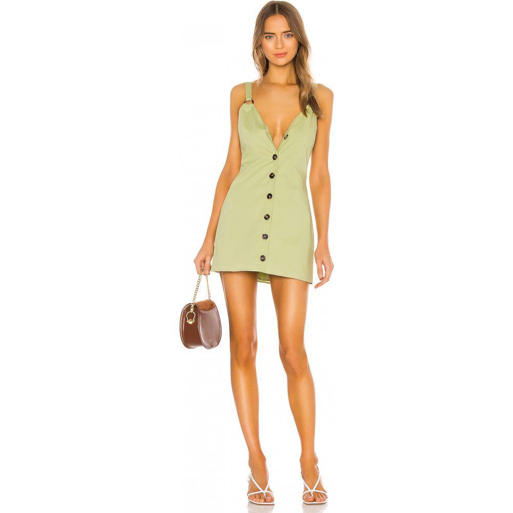 ハウスオブハーロウ1960 House of Harlow 1960 レディース ワンピース ミニ丈 ワンピース・ドレス【x REVOLVE Giada Mini Dress】Pistachio