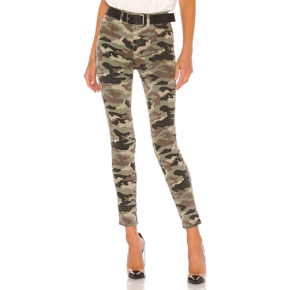 ハドソンジーンズ Hudson Jeans レディース ジーンズ・デニム ボトムス・パンツ【Barbara High Waist Super Skinny Ankle】Worn Camo