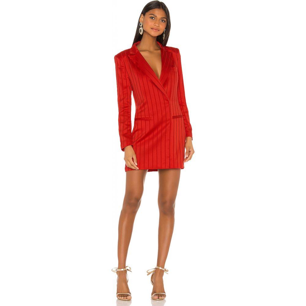 エヌビーディー NBD レディース ワンピース ブレザードレス ワンピース・ドレス【Dione Blazer Dress】Vibrant Red