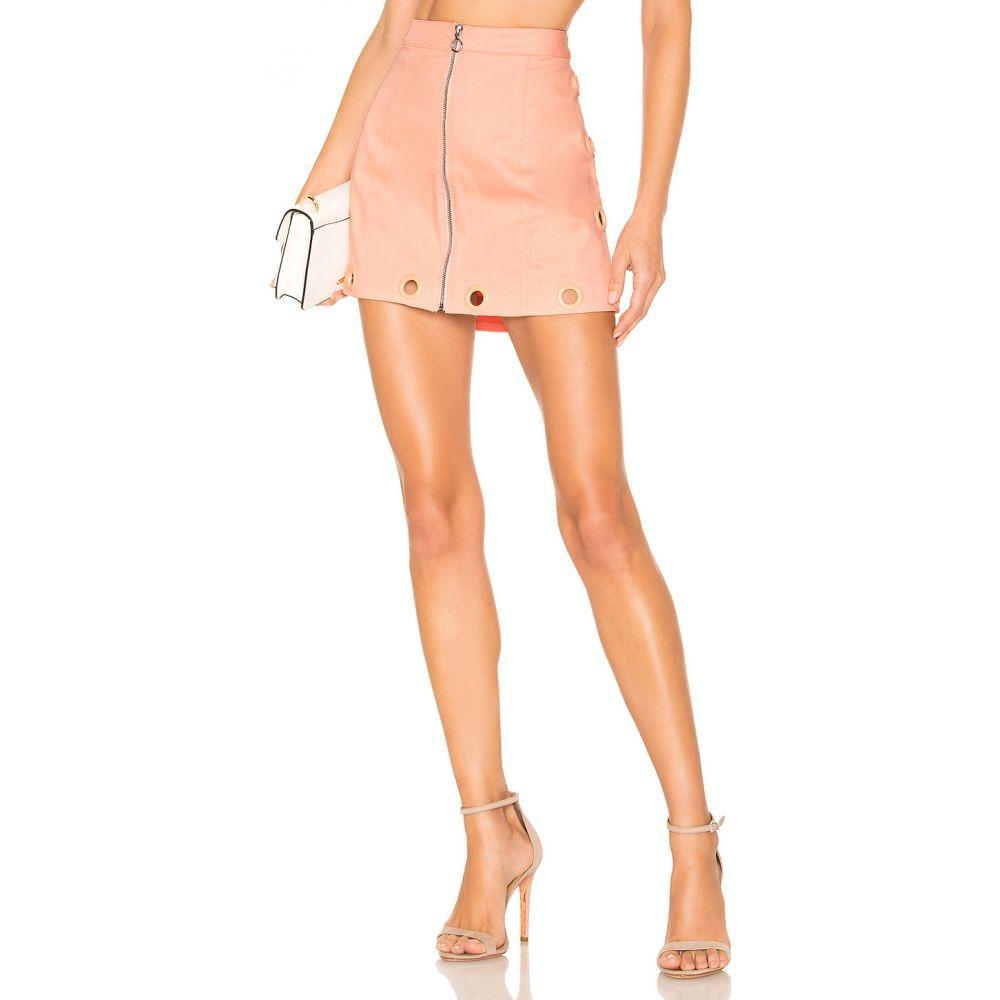 フォーラブアンドレモン For Love & Lemons レディース ミニスカート スカート【Creme Puff Mini Skirt】Cotton Candy