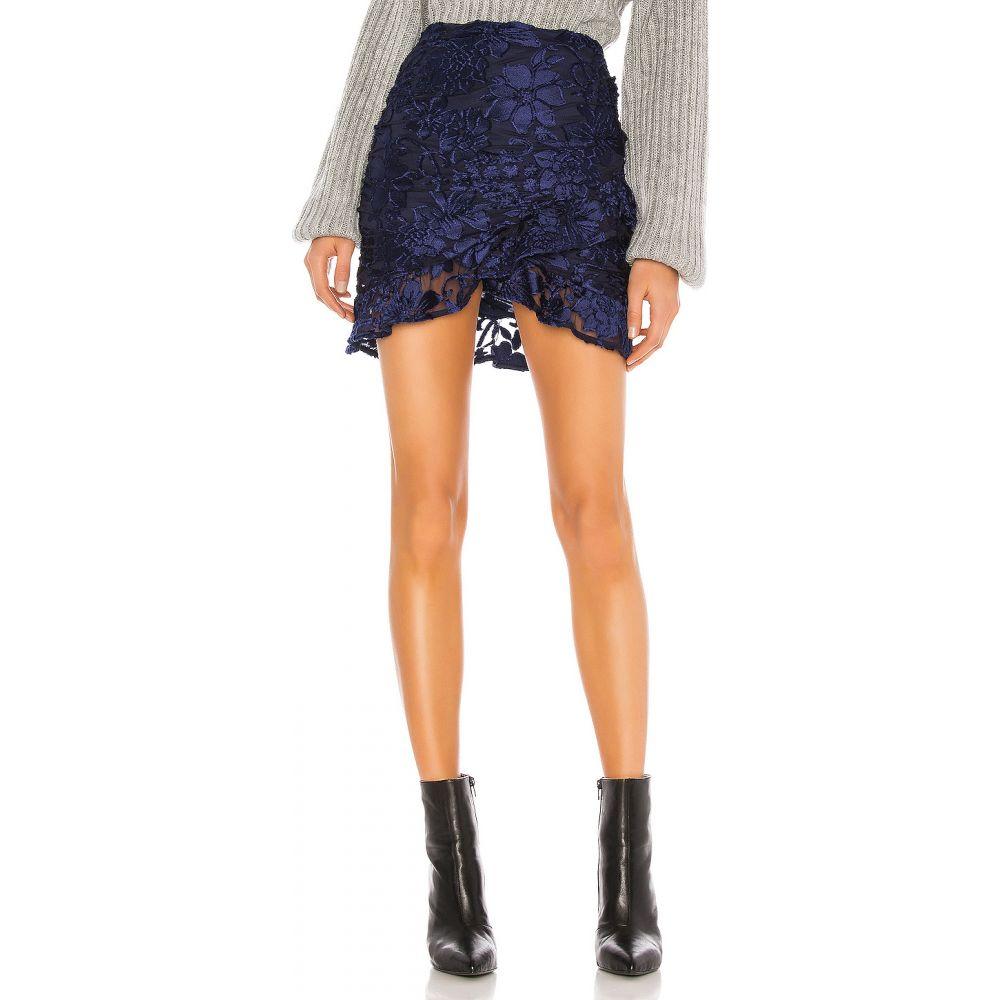 ハウスオブハーロウ1960 House of Harlow 1960 レディース ミニスカート スカート【x REVOLVE Bianka Mini Skirt】Navy