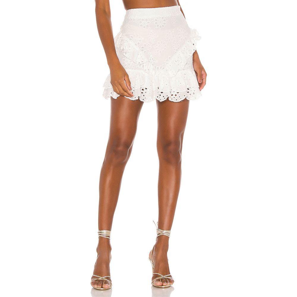 ラヴァーズフレンズ Lovers + Friends レディース スカート 【Santorini Skirt】White