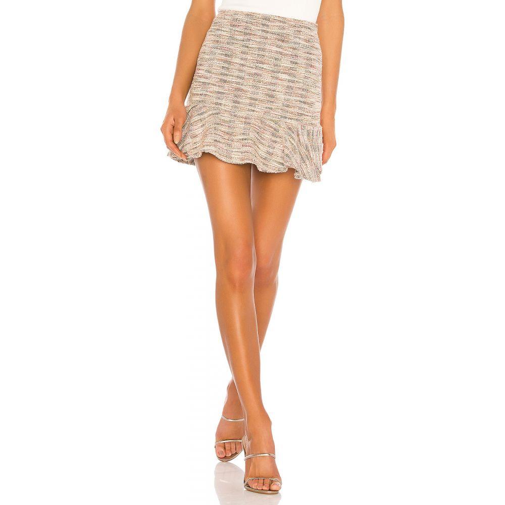 ラヴァーズフレンズ Lovers + Friends レディース スカート 【Catania Skirt】Pink Multi