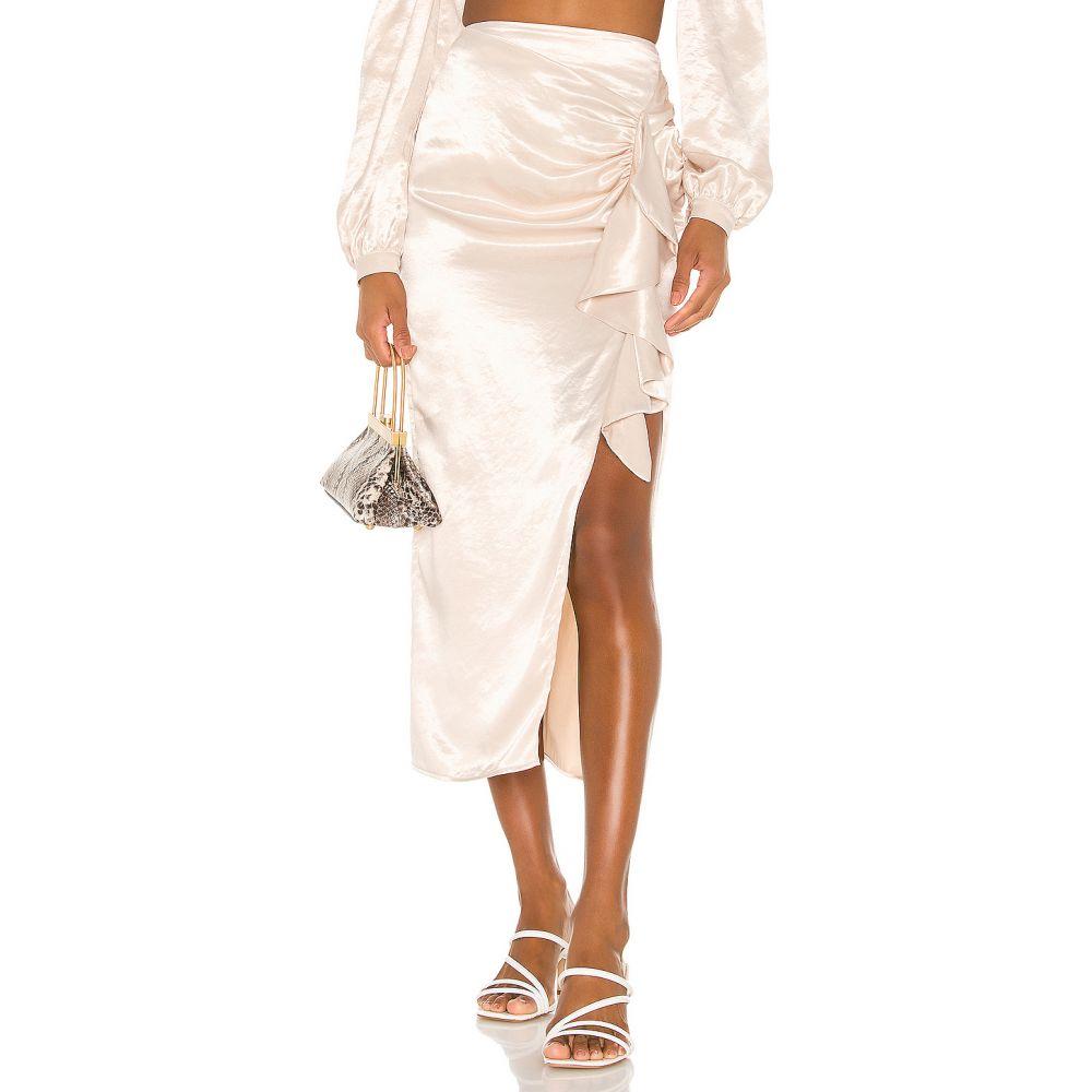 ソング オブ スタイル Song of Style レディース ひざ丈スカート スカート【Melody Midi Skirt】Porcelain Ivory