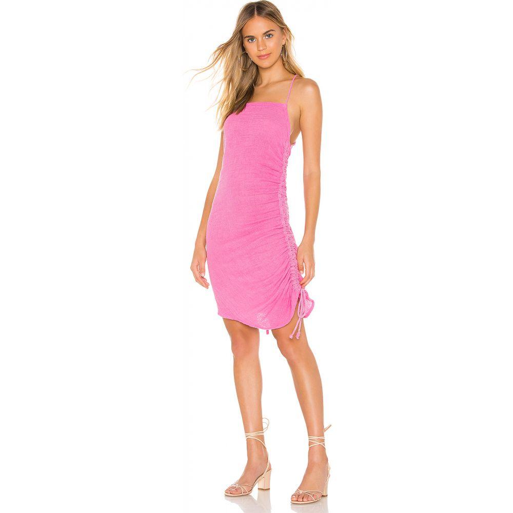ジェンズパイレーツブーティ Jen's Pirate Booty レディース ワンピース ミニ丈 ワンピース・ドレス【Crossings Mini Dress】Sky Pink