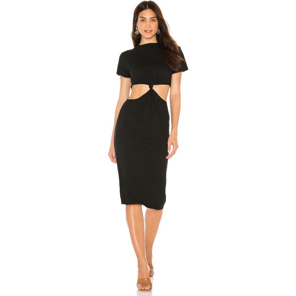 エルエヌエー LNA レディース ワンピース ワンピース・ドレス【Mayer Tee Dress】Black