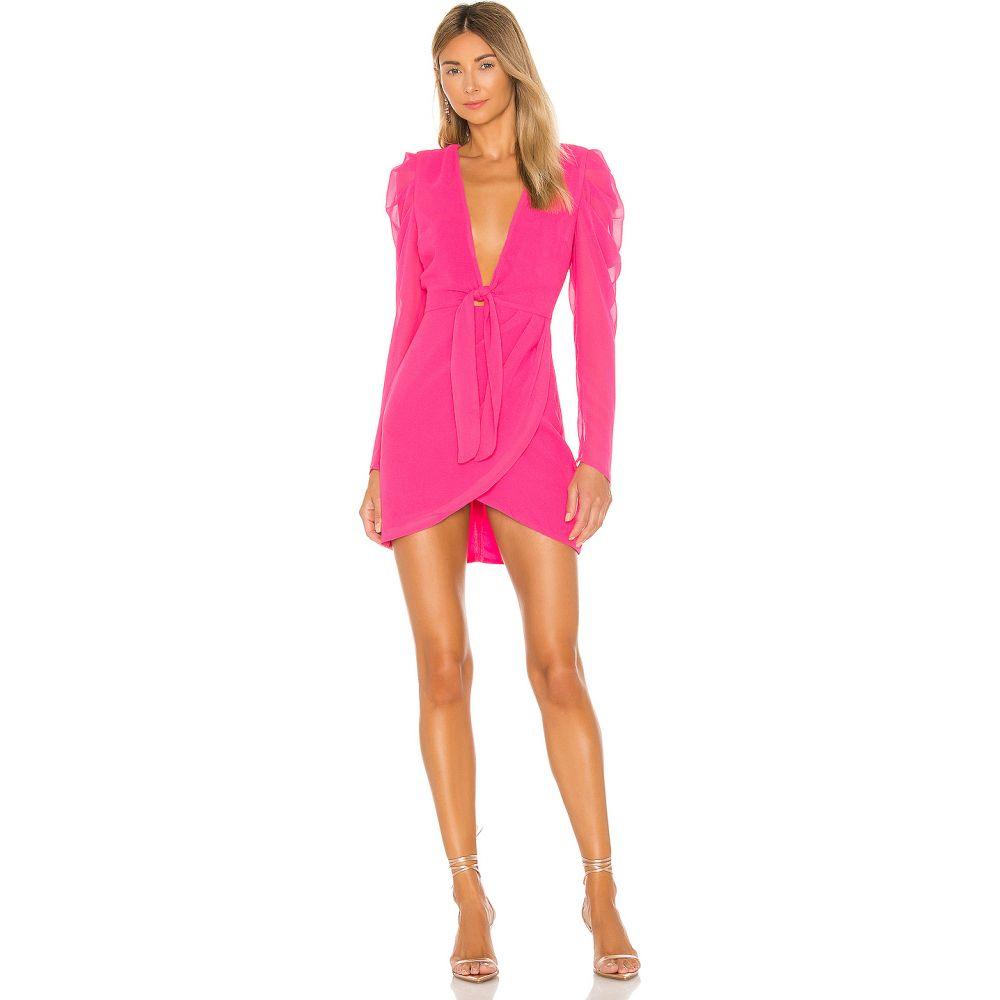 マイケル コステロ Michael Costello レディース ワンピース ミニ丈 ワンピース・ドレス【x REVOLVE Ibiza Mini Dress】Hot Pink