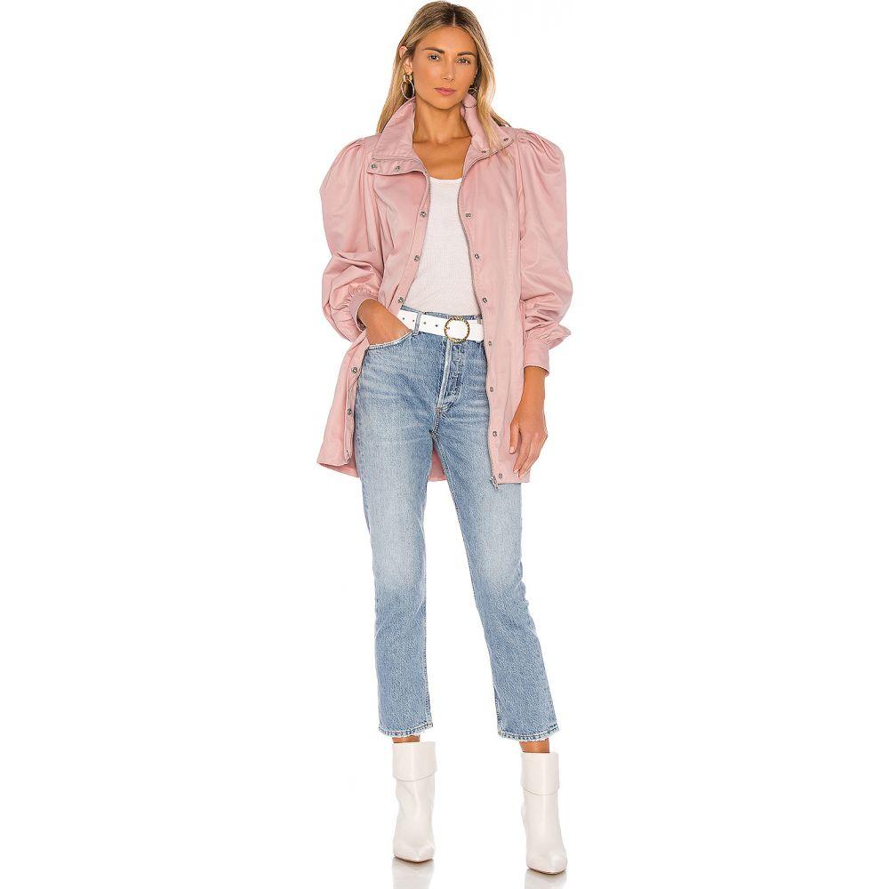 エルピーエー LPA レディース コート アウター【Henrietta Coat】Pink and Rust