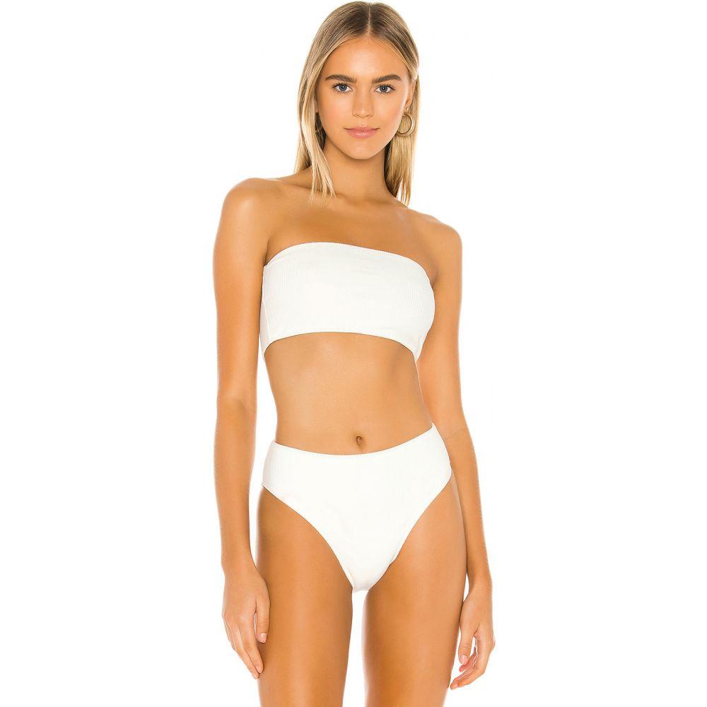 フランキーズ ビキニ Frankies Bikinis レディース トップのみ トップス 水着・ビーチウェア【Jenna Top】White
