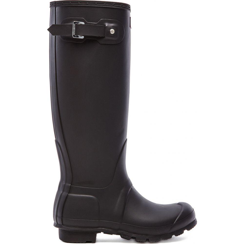 ハンター Hunter レディース レインシューズ・長靴 シューズ・靴【Original Tall Rain Boot】Black