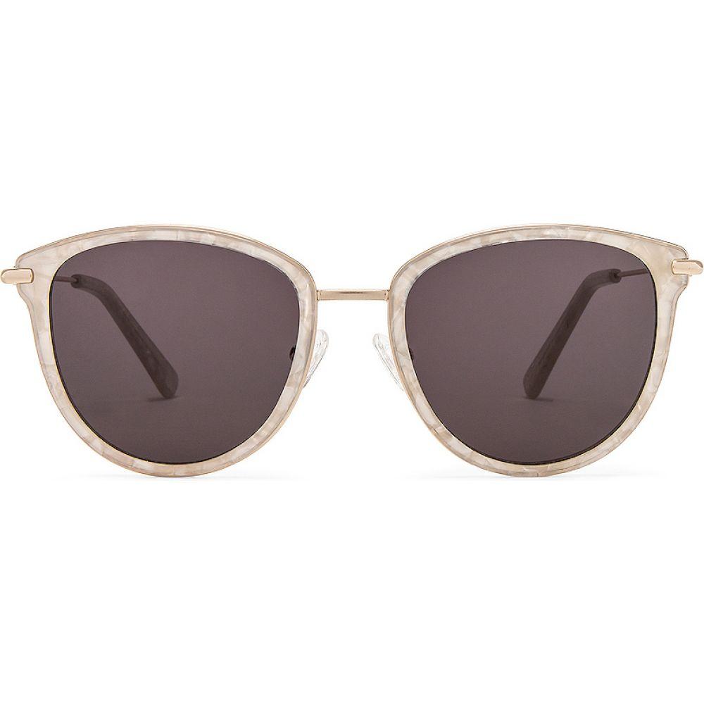 マイマイマイ my my my レディース メガネ・サングラス 【Wesley Sunglasses】White Marble