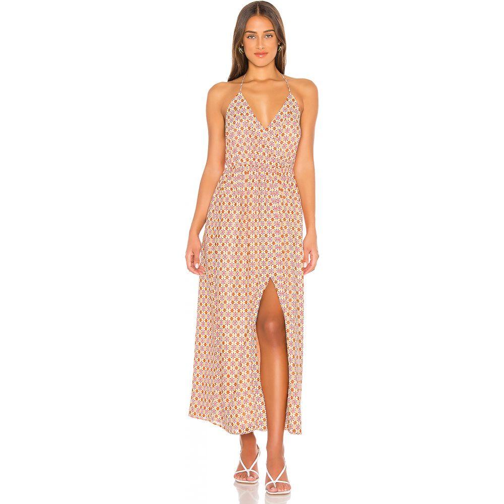 ハウスオブハーロウ1960 House of Harlow 1960 レディース ワンピース ワンピース・ドレス【x REVOLVE Mareena Dress】Geo Tile Print