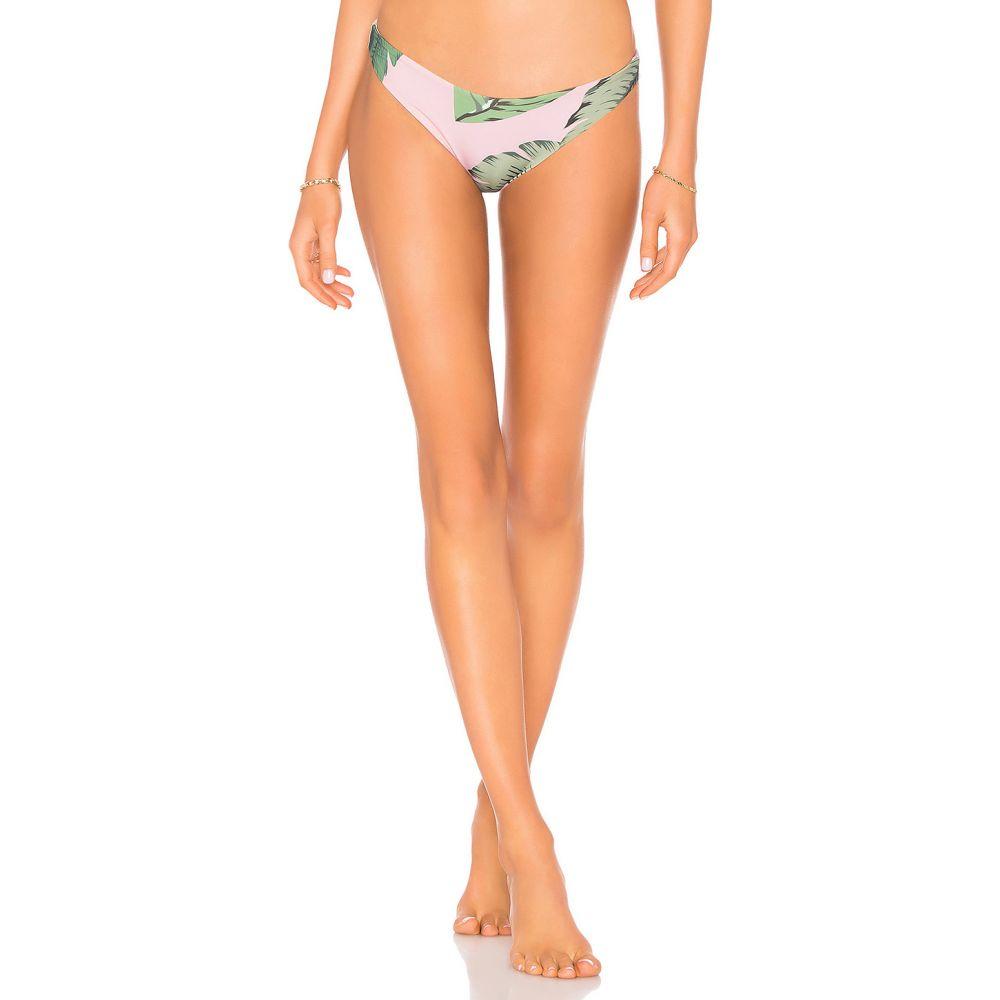 ビーチライオット BEACH RIOT レディース ボトムのみ 水着・ビーチウェア【x REVOLVE Island Bikini Bottom】Pink Palm