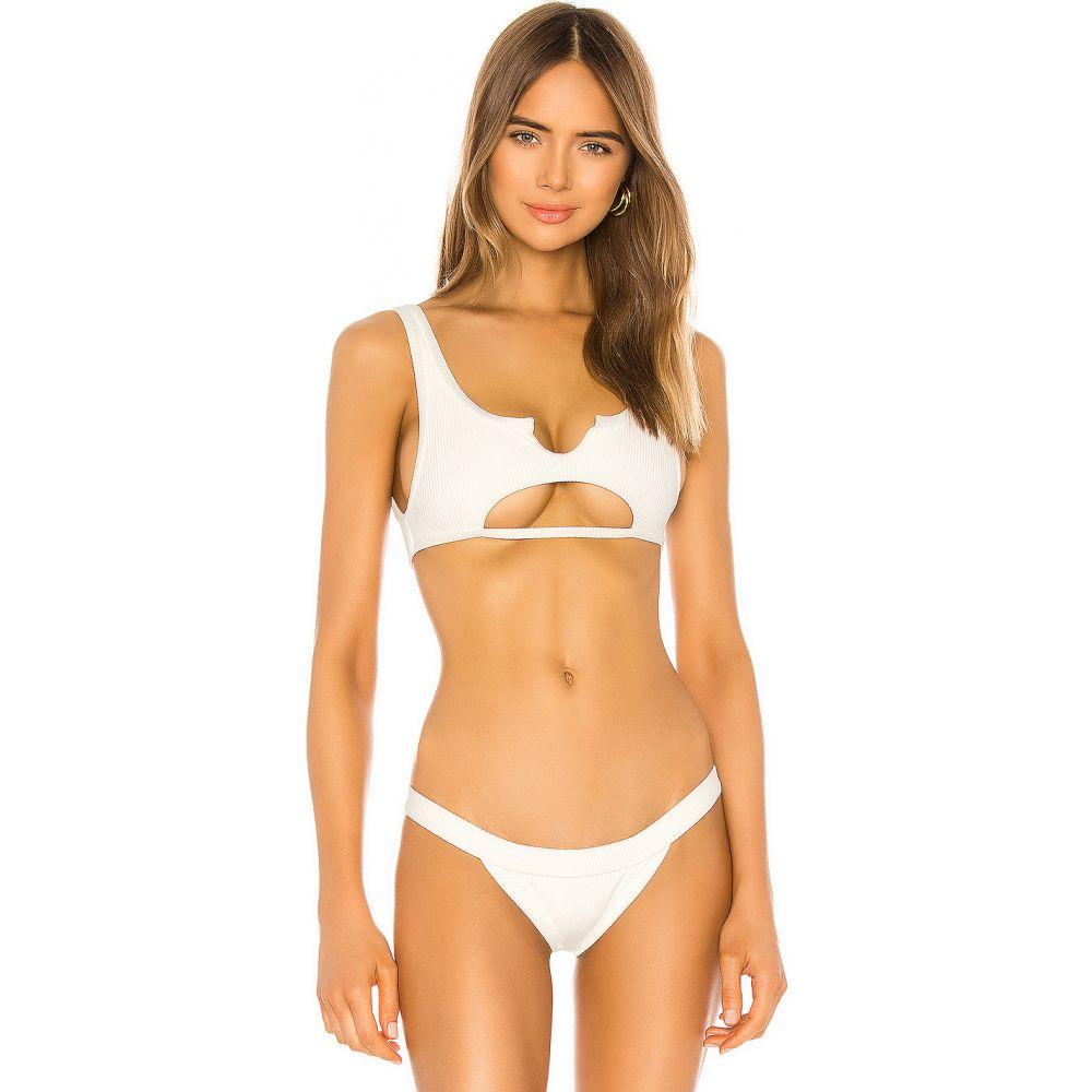 フランキーズ ビキニ Frankies Bikinis レディース トップのみ トップス 水着・ビーチウェア【Cole Top】White
