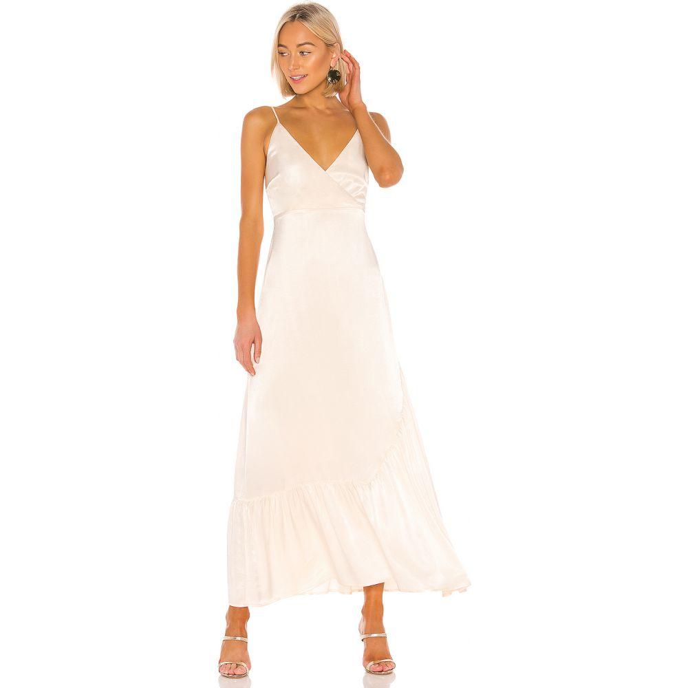ライン アンド ドット Line & Dot レディース ワンピース ラップドレス ワンピース・ドレス【Wrap Dress】Ivory