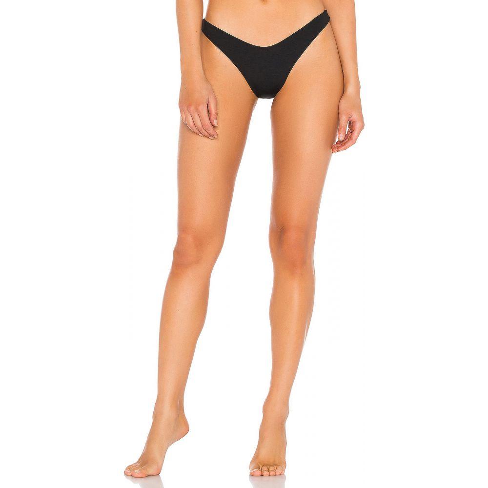 エルスペース L*SPACE レディース ボトムのみ 水着・ビーチウェア【Cabana Bitsy Bikini Bottom】Black