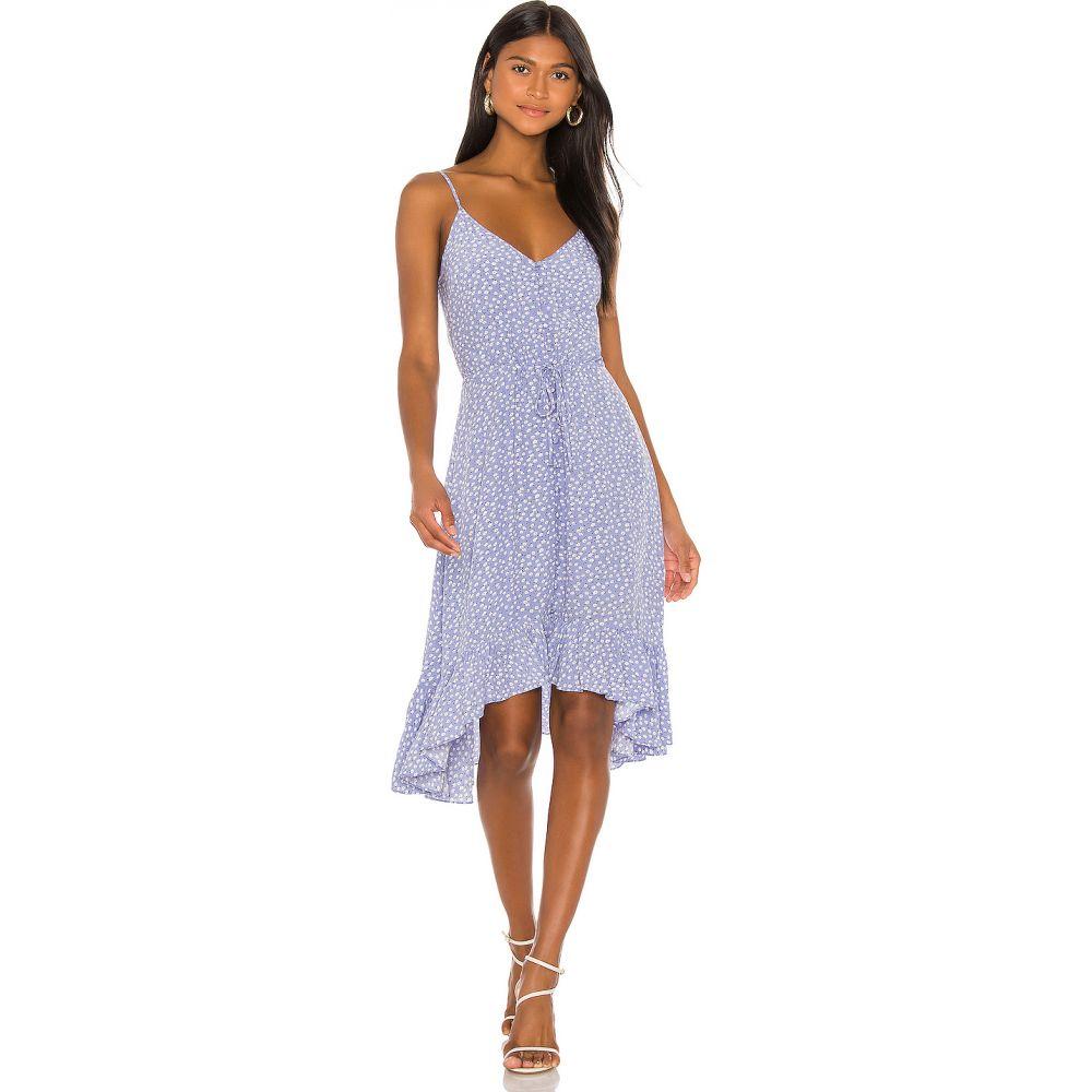 レイルズ Rails レディース ワンピース ミドル丈 ワンピース・ドレス【Frida Midi Dress】Sky Blue Daisies