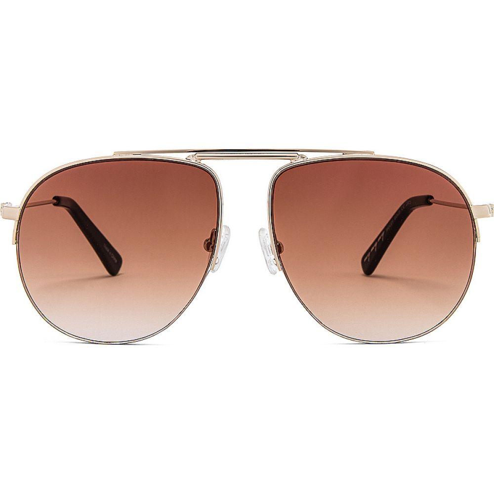 マイマイマイ my my my レディース メガネ・サングラス 【Ridley Sunglasses】Gold