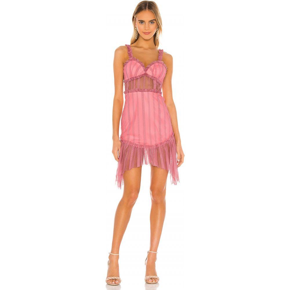 エヌビーディー NBD レディース ワンピース ミニ丈 ワンピース・ドレス【Ahlani Mini Dress】Blush Pink