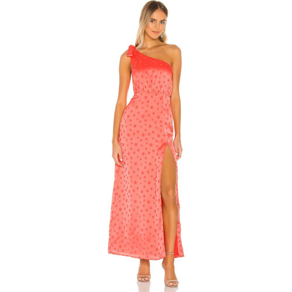 プライバシー プリーズ Privacy Please レディース ワンピース マキシ丈 ワンピース・ドレス【Blake Maxi Dress】Hot Coral