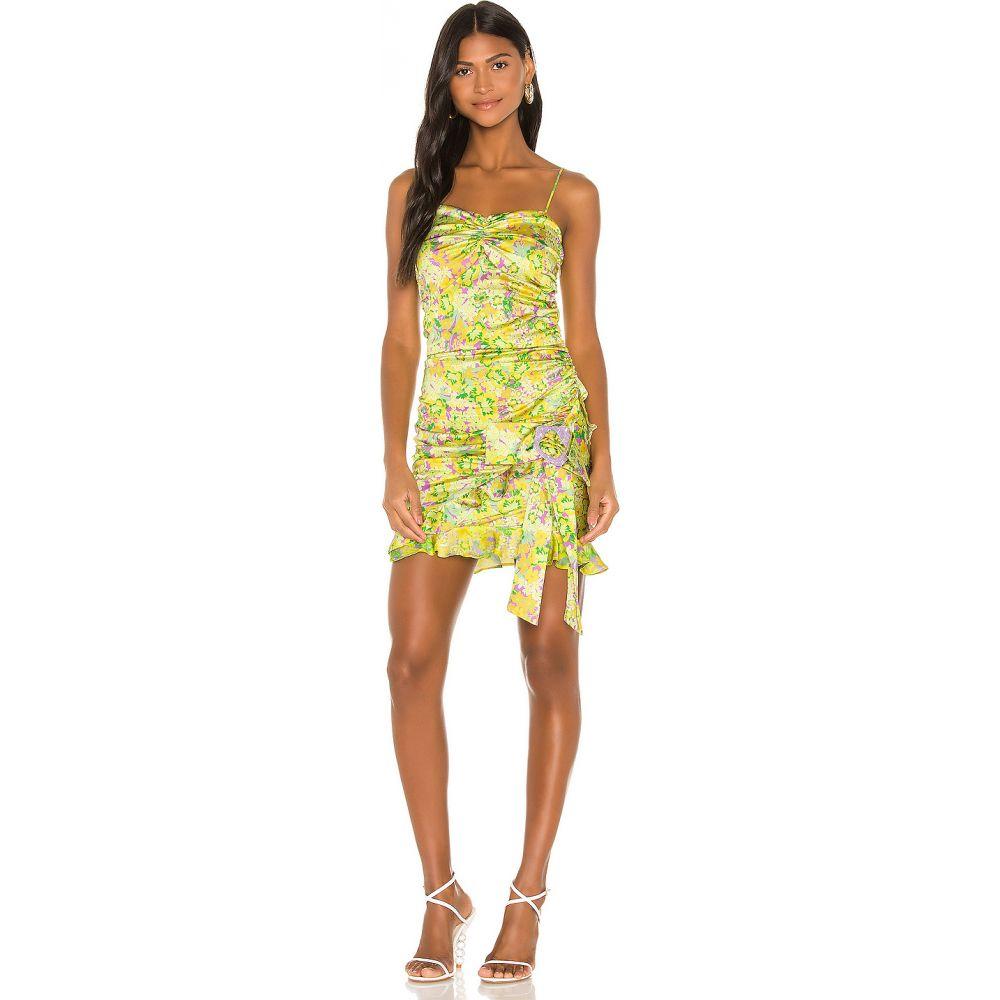フォーラブアンドレモン For Love & Lemons レディース ワンピース ミニ丈 ワンピース・ドレス【Dubois Mini Dress】Freedom Floral