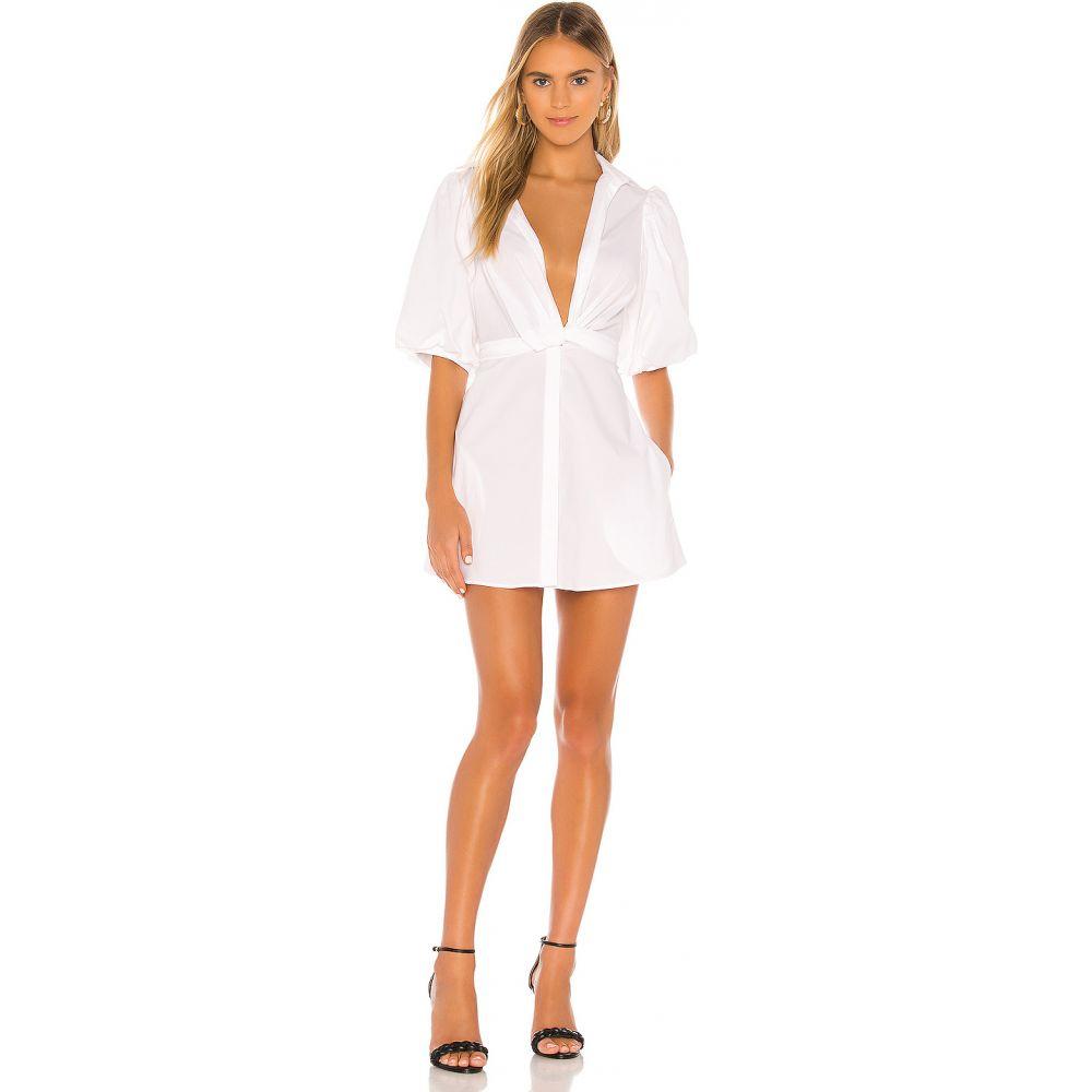 ピーターシン Petersyn レディース ワンピース ワンピース・ドレス【Carina Dress】White