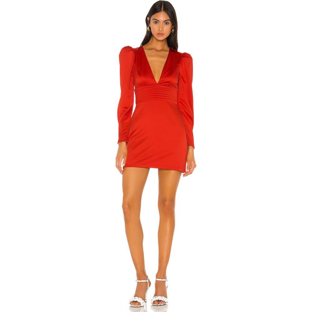 カミラ コエーリョ Camila Coelho レディース ワンピース ミニ丈 ワンピース・ドレス【Gylda Mini Dress】Carmin Orange