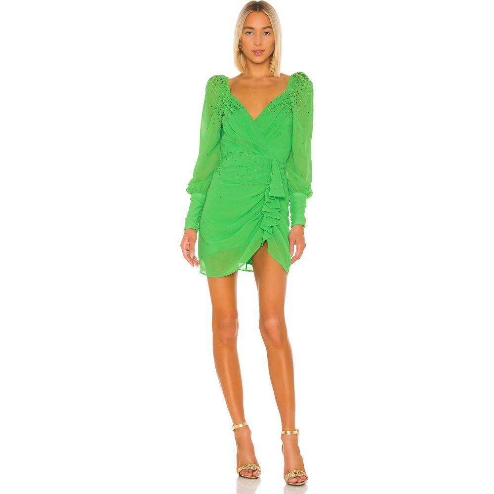 エルピーエー LPA レディース ワンピース ワンピース・ドレス【Braxton Embellished Dress】Green