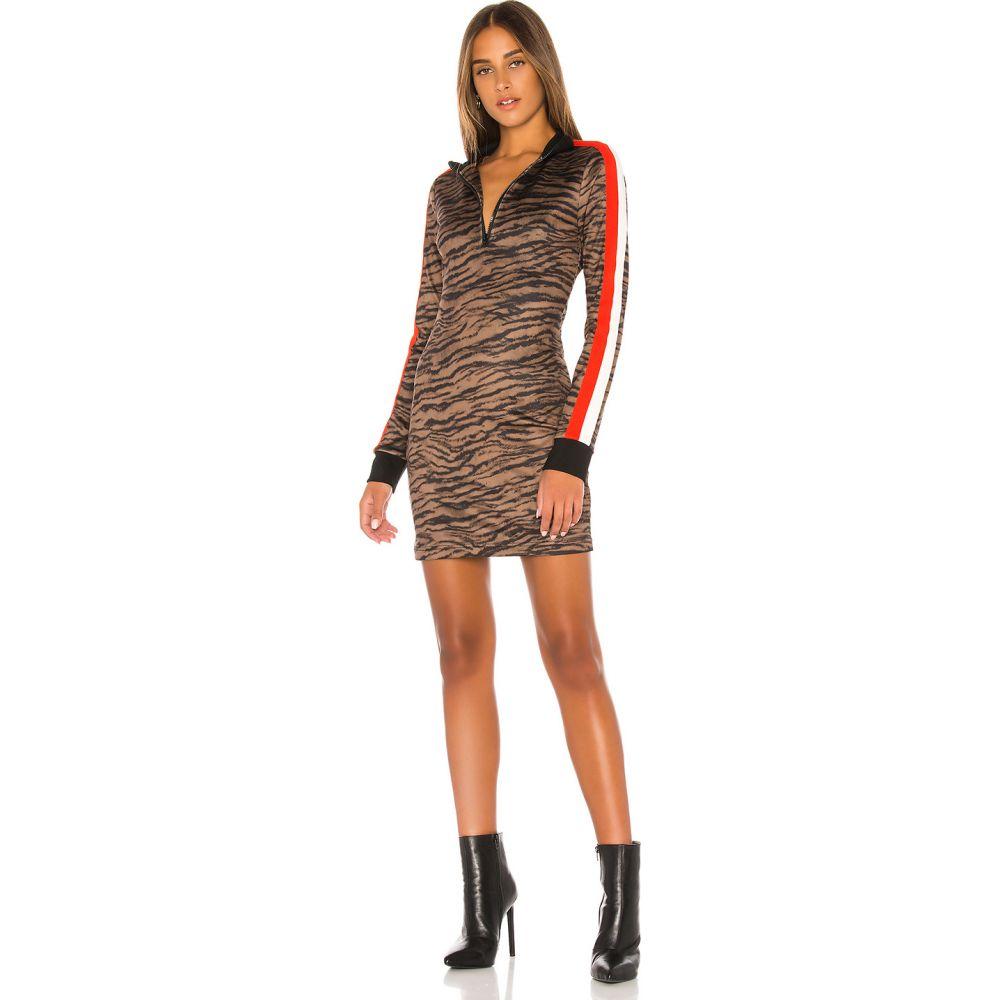 パム&ジェラ Pam & Gela レディース ワンピース ワンピース・ドレス【Tiger Track Dress】Natural