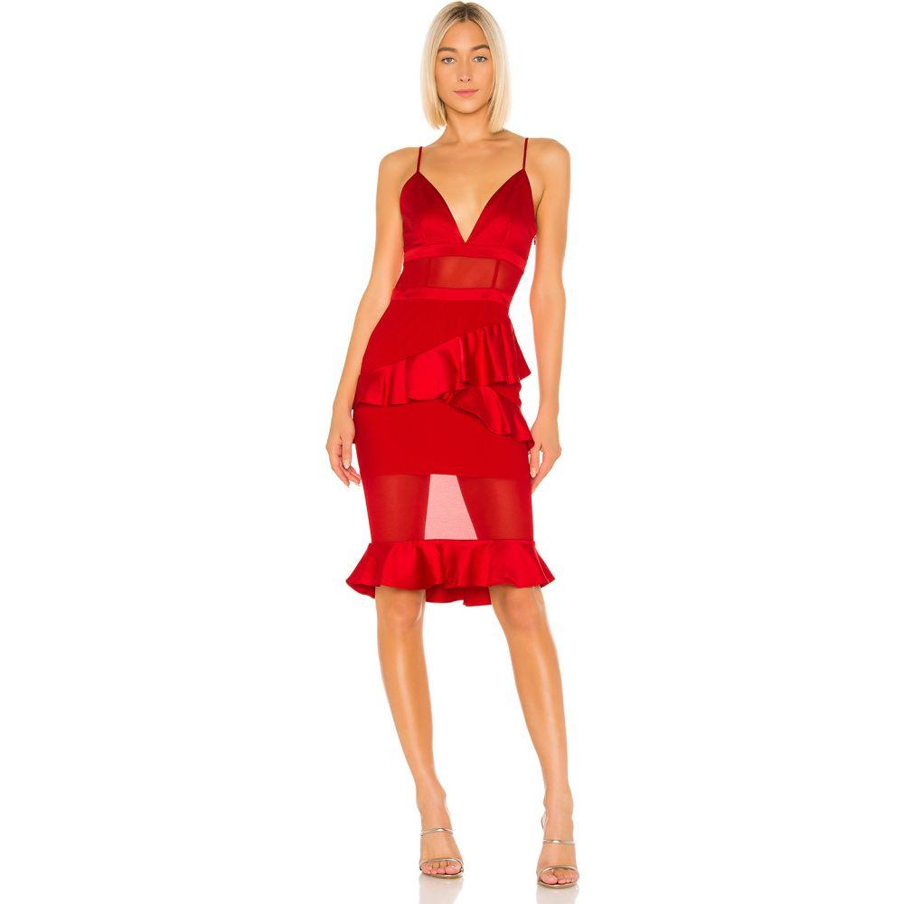 ラヴァーズフレンズ Lovers + Friends レディース ワンピース ワンピース・ドレス【Sadie Dress】Flame Scarlet