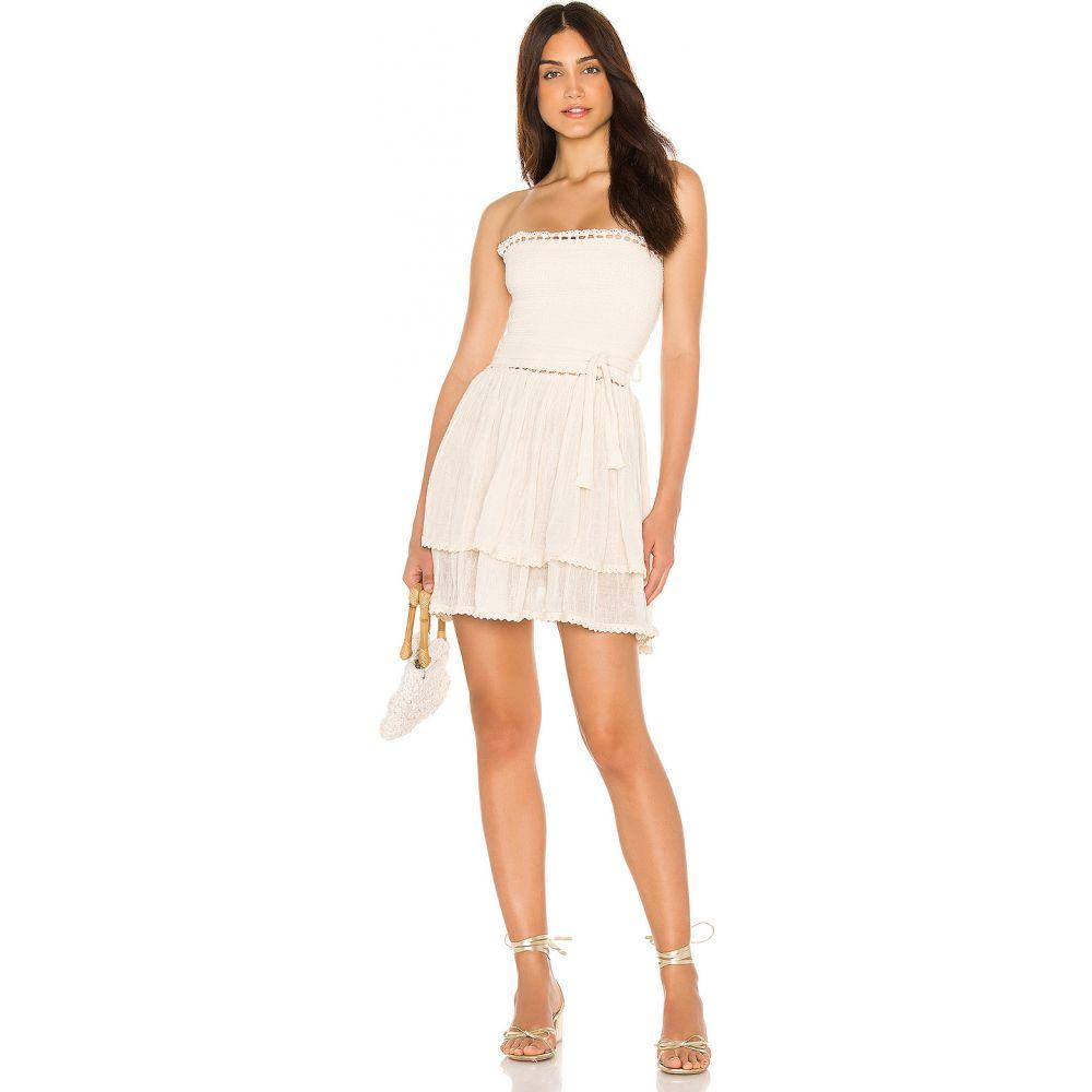 ジェンズパイレーツブーティ Jen's Pirate Booty レディース ワンピース ミニ丈 ワンピース・ドレス【Aguarela Mini Dress】Natural