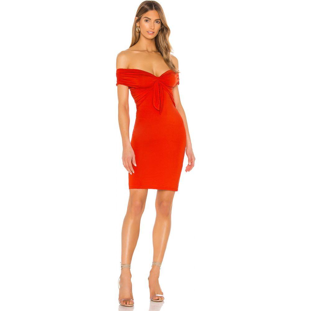 エヌビーディー NBD レディース ワンピース ワンピース・ドレス【Illusion Dress】Red